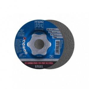 CC-GRIND-Sciernica tarczowa CC-GRIND-FLEX 115 SG STEEL FINE Pferd 64187115 10szt