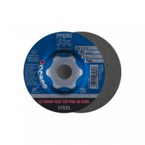CC-GRIND-Sciernica tarczowa CC-GRIND-FLEX 125 SG STEEL FINE Pferd 64187125 10szt