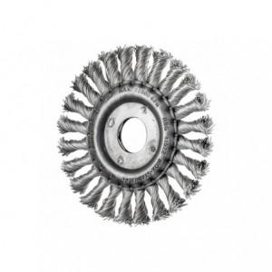 Szczotki tarczowe, plecione RBG 11512/22,2 INOX 0,50 Pferd 43302124 10szt