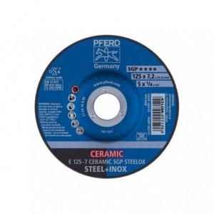 Tarcza do szlifowania E 125-7 CERAMIC SGP STEELOX Pferd 62212300 10szt