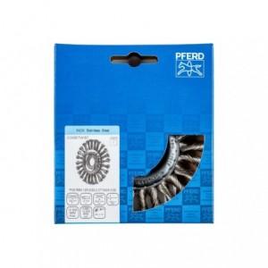 Szczotki tarczowe, plecione POS RBG 12512/22,2 CT INOX 0,50 Pferd 43303012 1szt