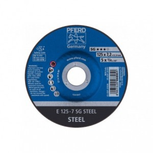 Tarcza do szlifowania E 125-7 SG STEEL Pferd 62212626 10szt