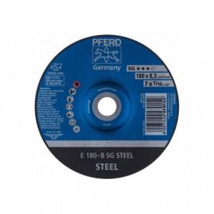 Tarcza do szlifowania E 180-8 SG STEEL Pferd 62217826 10szt