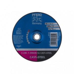 Tarcza do szlifowania E 230-7 ZIRKON SG CAST+STEEL Pferd 62223628 10szt