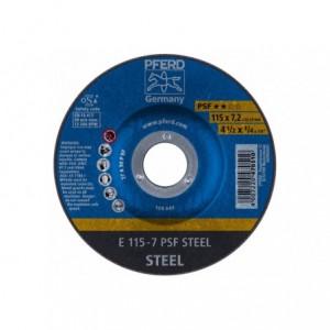 Tarcza do szlifowania E 115-7 PSF STEEL Pferd 62011634 10szt
