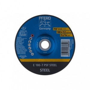 Tarcza do szlifowania E 180-7 PSF STEEL Pferd 62017634 10szt