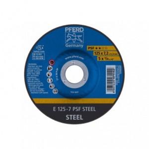 Tarcza do szlifowania E 125-7 PSF STEEL Pferd 62012634 10szt