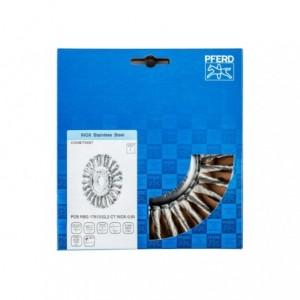 Szczotki tarczowe, plecione POS RBG 17813/22,2 CT INOX 0,50 Pferd 43304018 1szt