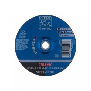 Tarcza do szlifowania E 230-7 CERAMIC SGP STEELOX Pferd 62218300 10szt
