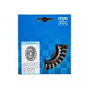 Szczotki tarczowe, plecione POS RBG 11512/22,2 INOX 0,50 Pferd 43312006 1szt