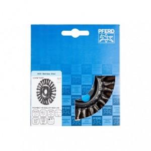 Szczotki tarczowe, plecione POS RBG 11512/22,2 CT INOX 0,50 Pferd 43312015 1szt